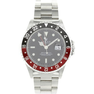 ROLEX16710 GMT Master 2 SS mens wrist watch