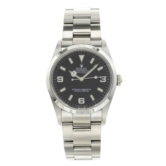 ROLEX114270 Oyster Perpetual Explorer 1 SS mens watch