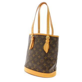 LOUIS VUITTON bucket M M42238 tote bag Monogram Canvas ladies fs3gm