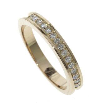 Diamond ring K18 Pink ladies