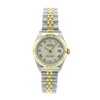 79173 ROLEX オイスターパーペチュアルデイトジャスト watch SS/K18YG Lady's