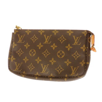 LOUIS VUITTON ポシェットアクセソワール M51980 accessory pouch Monogram Canvas ladies