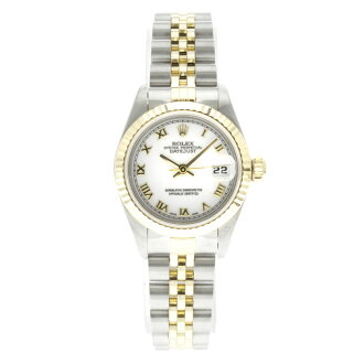 ROLEX Oyster Perpetual Datejust 69173 OH already watch K18YG/SS ladies