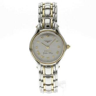 LONGINES黄金的翅膀L3 606 5手表不锈钢女士