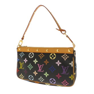 LOUIS VUITTON pochettaxesovar M92648 accessory bag Monogram Canvas ladies