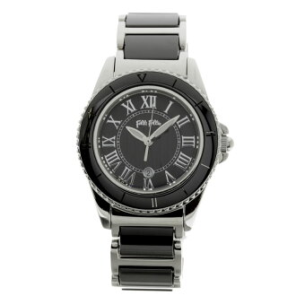 Folli Follie WF6T069BD watch stainless steel / ceramic Lady's
