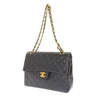 CHANEL matelasse shoulder bag Leather Womens