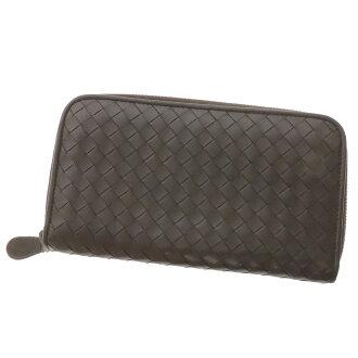 BOTTEGA VENETA イントレチャート long wallet (there is a coin purse) calf unisex