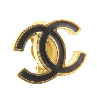 CHANEL Coco make earrings metal ladies