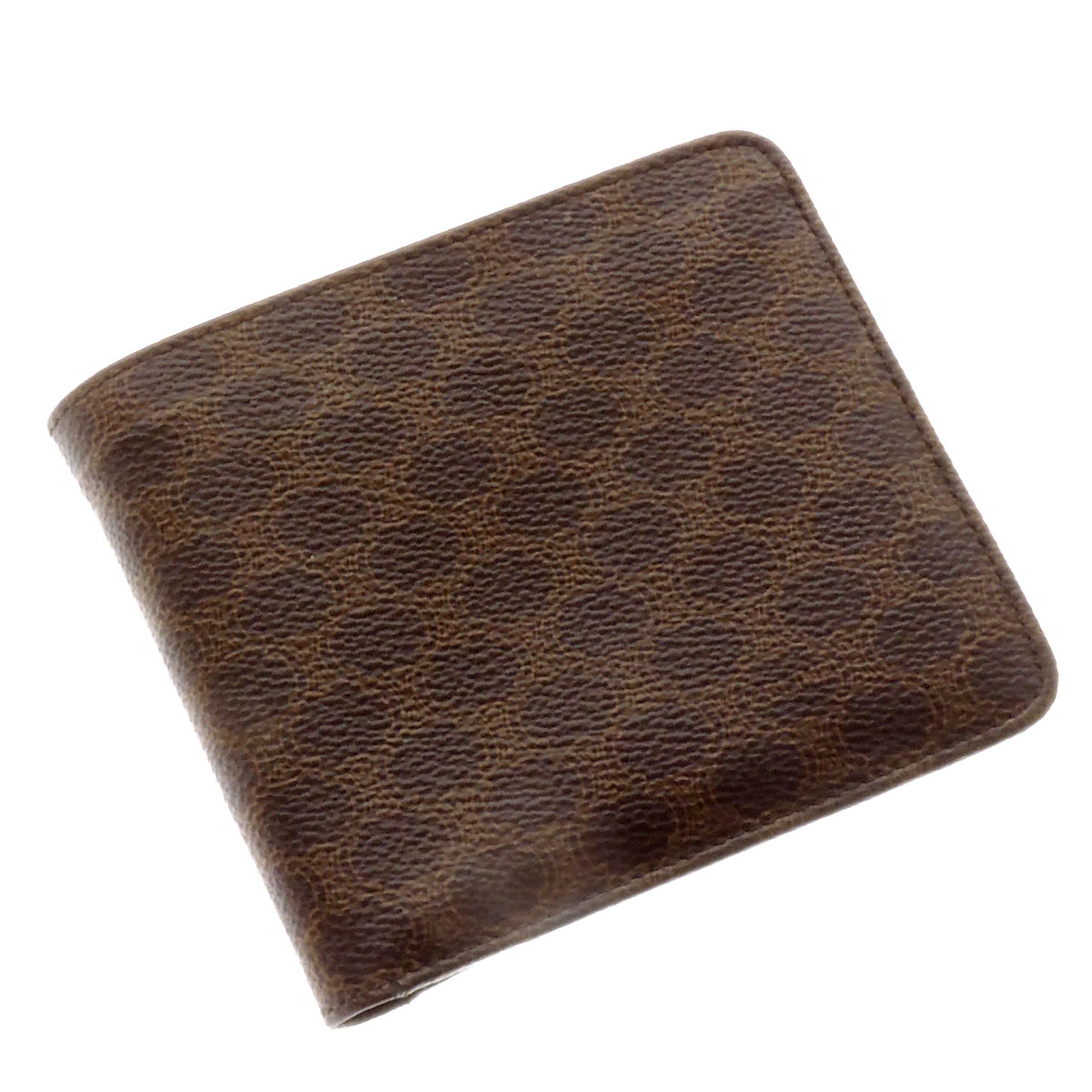 CELINE【セリーヌ】 レディース 二つ折り財布(小銭入れあり) PVCキャンバス レディース 【中古】