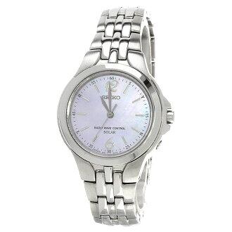 精工 3B21 0AK0 手腕上的手表不锈钢女士