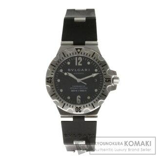宝格丽 Diagono SD40SVD 手表不锈钢 / 橡胶男装 fs04gmi
