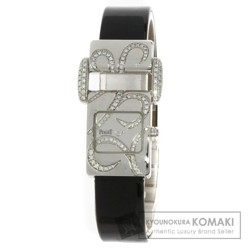 PIAGET【ピアジェ】 ミスプロトコール ピアジェ 腕時計 K18ホワイトゴールド レディース 【中古】