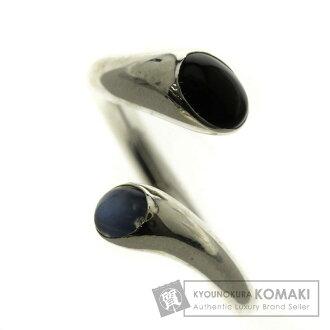 格奥尔格 · 詹森嘉年华 / 玛瑙 / 蓝色的月亮音环,银妇女的环