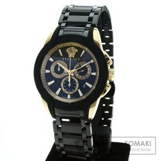 詹尼 • 范思哲 M8C 不锈钢 / 橡胶男士手表