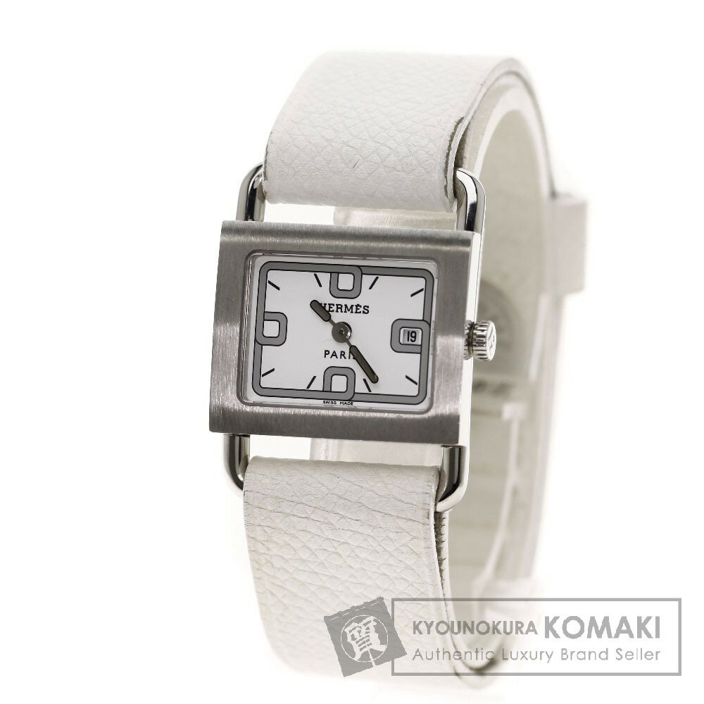 HERMESBA1.210 ミニバレニア 腕時計 ステンレス/革 レディース 【中古】【エルメス】