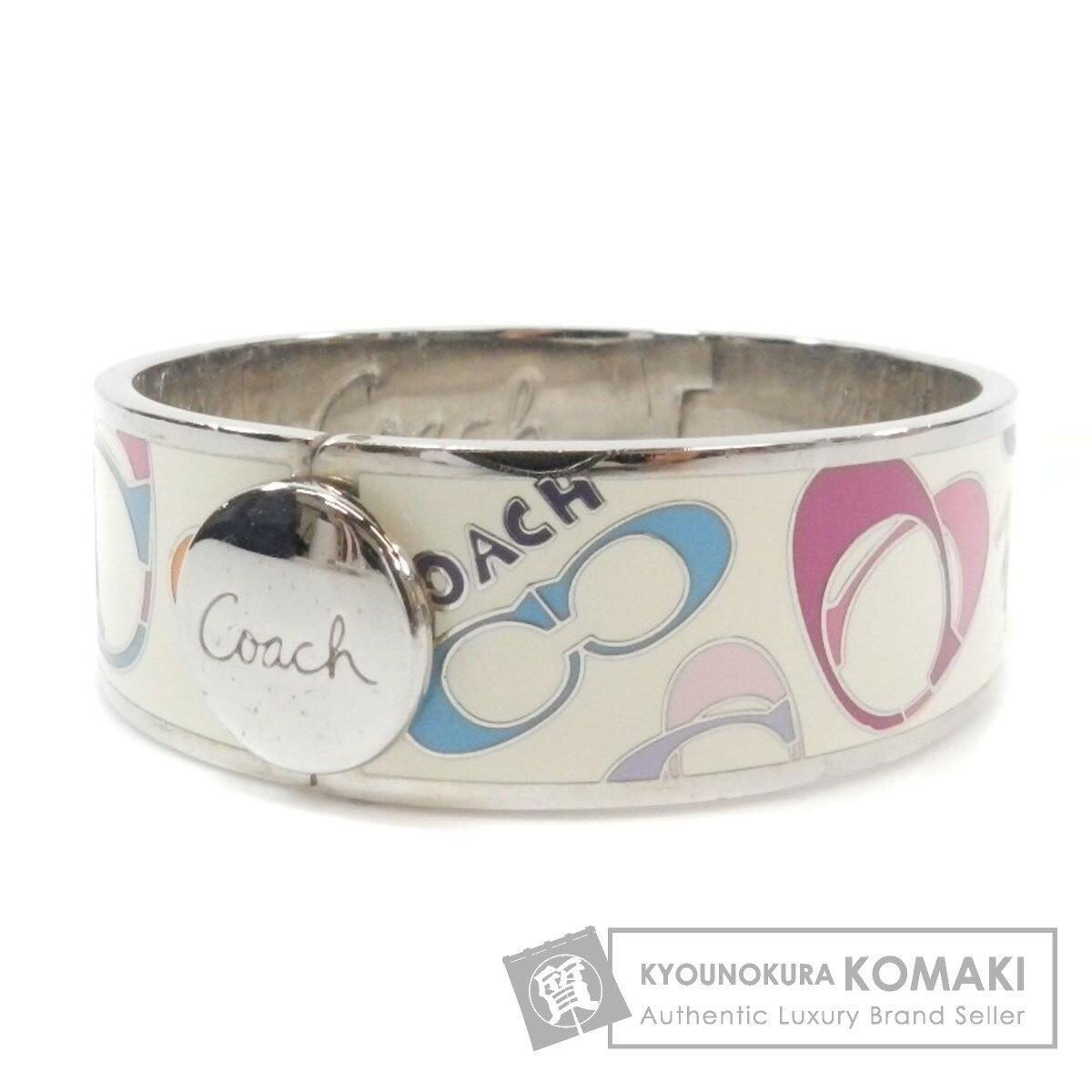COACH ロゴモチーフ ブレスレット 金属製 レディース 【中古】【コーチ】