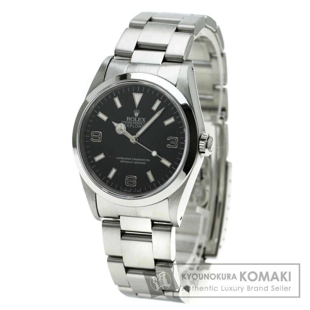 ROLEX 14270 エクスプローラー 腕時計 ステンレス/SS メンズ 【中古】【ロレックス】