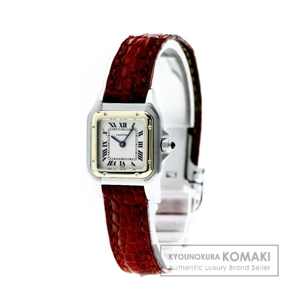 CARTIER パンテール 腕時計 ステンレス/革 レディース 【中古】【カルティエ】