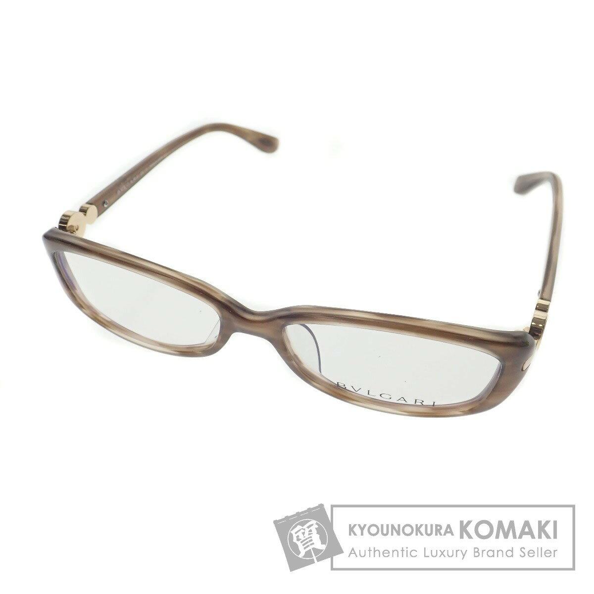 BVLGARI 度なし 眼鏡 プラスチック レディース 【中古】【ブルガリ】