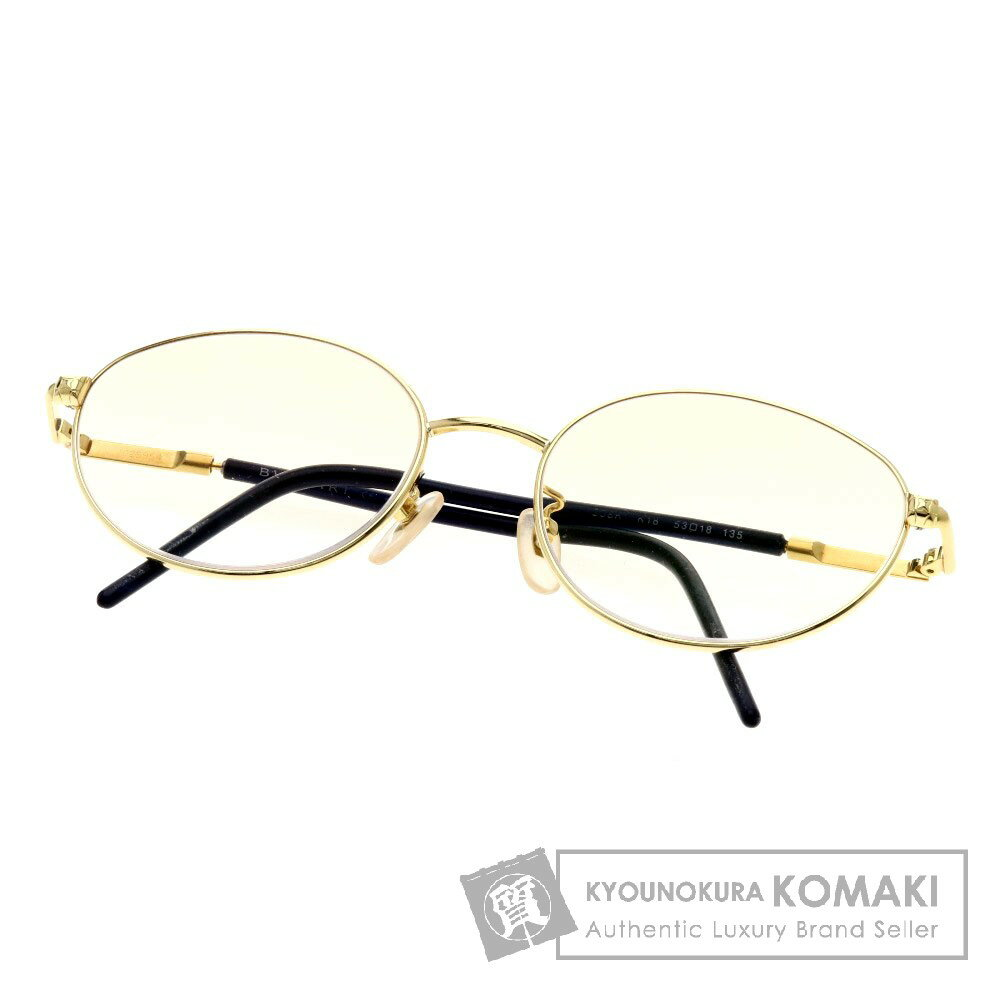 BVLGARI 度入り 眼鏡 K18イエローゴールド ユニセックス 【中古】【ブルガリ】