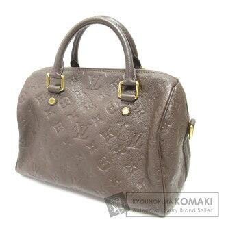 88e63d103a Authentic LOUIS VUITTON M40761 Speedy band Villiers 25 Handbag Monogram  Unplant Leather
