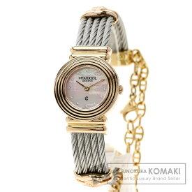 シャリオール サントロペ 腕時計 ステンレススチール/SS/PGP レディース 【中古】【CHARRIOL】