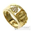 カレライカレラ 女神 ダイヤモンド リング・指輪 K18イエローゴールド レディース 【中古】【Carrera y Carrera】