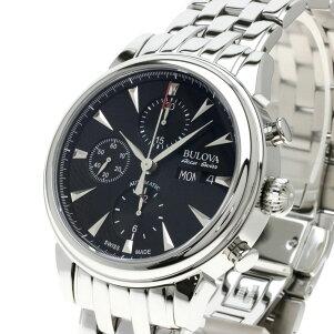 ブローバ 63C113 アキュスイス Accu Swiss 腕時計 ステンレススチール/SS メンズ 【中古】【BULOVA】