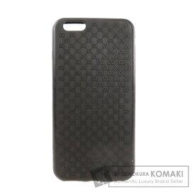 グッチ GG iPhone6プラスケース スマートフォンケース ラバー レディース 【中古】【GUCCI】