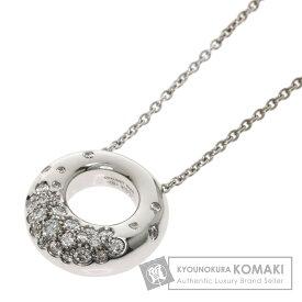 ショーメ アノーキャビア ダイヤモンド ネックレス K18ホワイトゴールド レディース 【中古】【Chaumet】