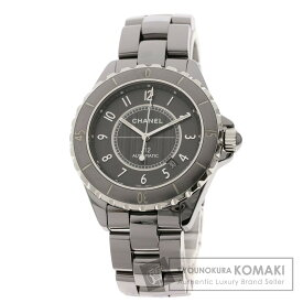 シャネル H2934 J12 クロマティック 41 腕時計 チタンセラミック/チタンセラミック メンズ 【中古】【CHANEL】