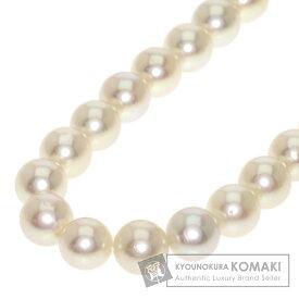 タサキ アコヤパール 真珠 ネックレス K14ホワイトゴールド レディース 【中古】【TASAKI】
