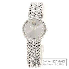 ピアジェ 8059D2 11P ダイヤモンド 腕時計 K18ホワイトゴールド/K18WG レディース 【中古】【PIAGET】