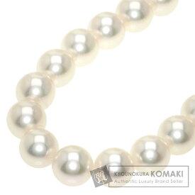 ポーラ アコヤパール 真珠 ネックレス K14ホワイトゴールド レディース 【中古】【POLA】