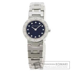 ブルガリ BB23SS/12 ブルガリブルガリ 12P ダイヤモンド 腕時計 ステンレススチール/SS レディース 【中古】【BVLGARI】