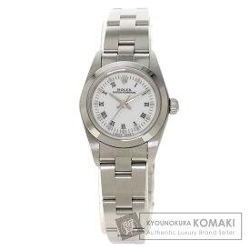 ロレックス 76080 オイスターパーペチュアル 腕時計 ステンレススチール/SS レディース 【中古】【ROLEX】