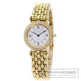 ヴァンクリーフ&アーペル クラシック ダイヤモンドベゼル 腕時計 K18イエローゴールド/K18YG/ダイヤモンド レディース 【中古】【Van Cleef & Arpels】