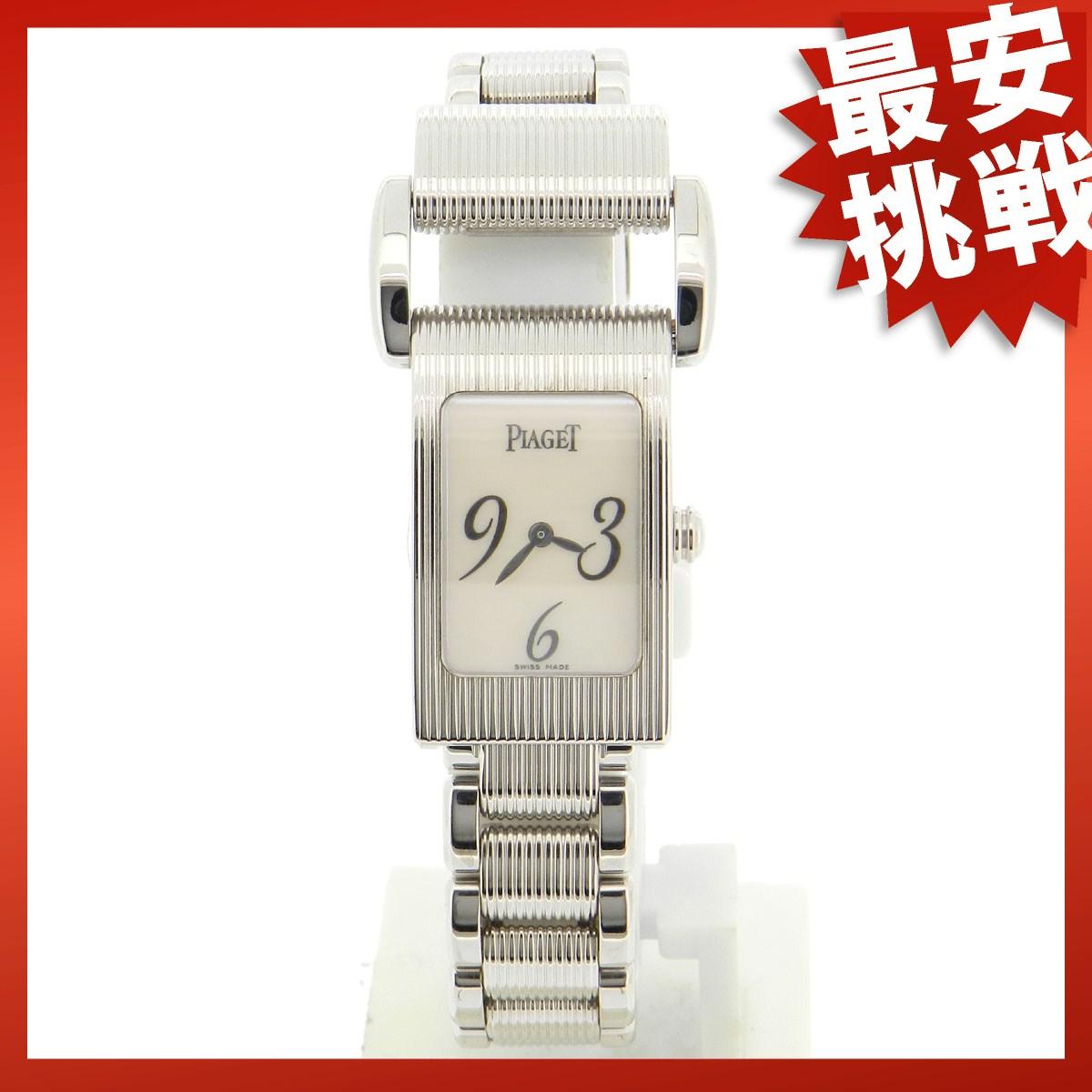 PIAGET【ピアジェ】ミスプロトコール アロンジェ 腕時計 K18WG レディース 【中古】