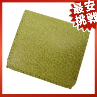 CHRISTIAN AUJARD purse (wallet) two-fold wallets (purses and) with leather ladies
