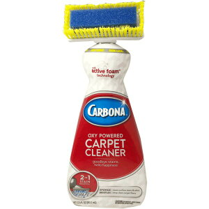 2in1シャンプー カーペット専用 洗浄剤 【3本セット】 ブラシ付き 『CARBONA カーボナー』 〔清掃用品 掃除道具〕