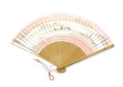 扇子夏扇「洛風扇」東山(女性用)カバンに忍ばせておくだけで優雅な気分京扇子