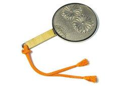 和装に華やぐ上品なアイテム和鏡鏡の子-KIKU-(受注生産品)