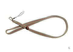 強くて丈夫な正絹袋織真田紐ネックストラップ3分幅(各種)【メール便対応可】