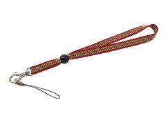デジカメや鍵などにもアクセントに伝統の技を正絹袋織真田紐ストラップ