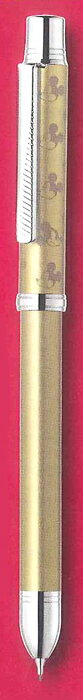 ZEBRAゼブラ 多機能筆記具シャーボ発売40周年記念 限定スラリシャーボディズニーコレクション LimitedEdithion シャンパンゴールド