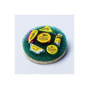 教材 家族工作・大人の工作 ミニチュアドールハウスミニチュアパーツ(チーズセット)