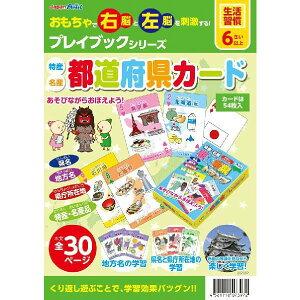 教材 幼児プレイブック 都道府県カード