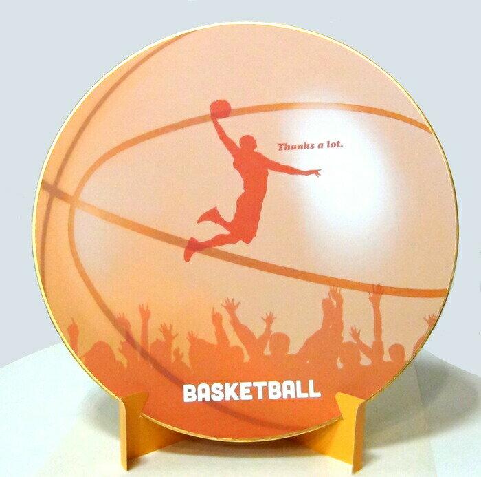 おもしろ教材 シノコマ スポーツ色紙(封筒・紙製スタンド付き)バスケットボール(シルエット) 部活色紙