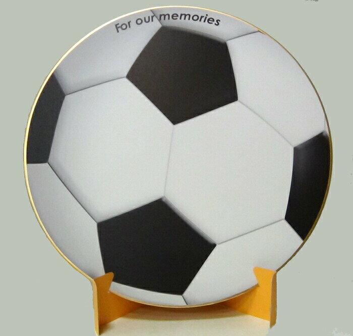 おもしろ教材 シノコマ スポーツ色紙(封筒・紙製スタンド付き)サッカーボール(リアル) 部活色紙
